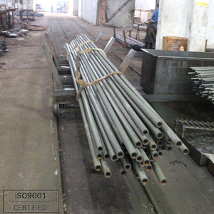 Din2391 schedule 40 building material steel tube/pipe