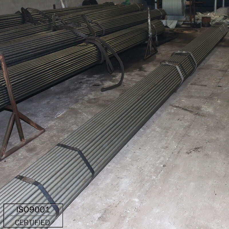 Sch40 precision A214 GrC a33 st35.8 cold rolled silvery carbon mild seamless steel pipe